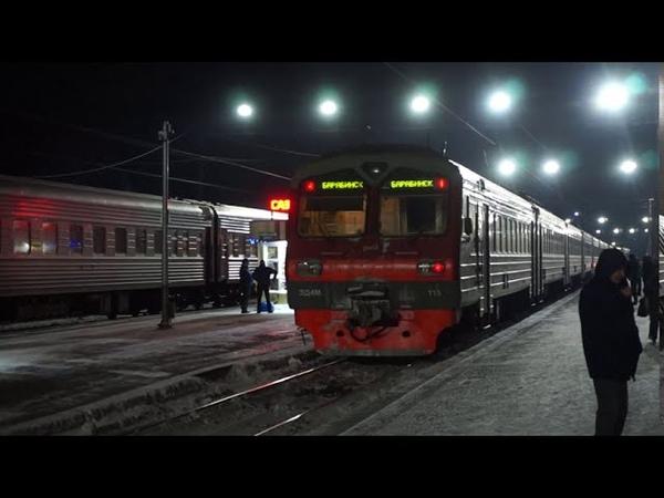 Ночная станция Барабинск