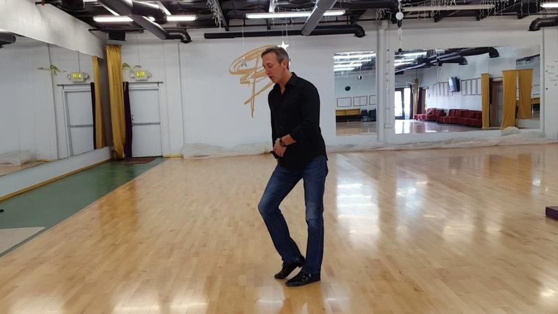 3 toe base leg action rythm latin vs swing