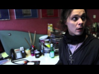 Ville Editing The HIM Tears On Tape Metal Hammer Fanpack Magazine