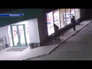 Ограбление заправки в Макеевке
