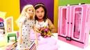 Barbie oyunu Kıyafetleri dolaba sığmıyor Yeni gardrop sipariş veriyoruz