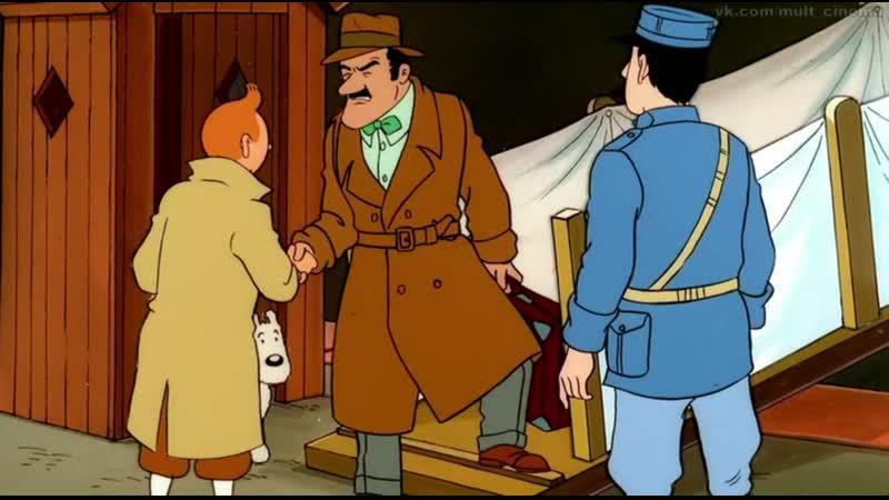 3 сезон 1 7 серии Приключения Тинтина 1991 1992