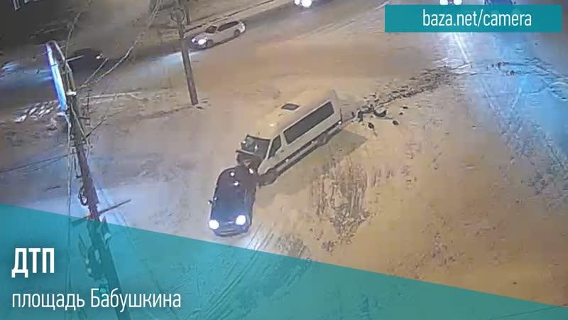 ДТП. площадь Бабушкина 15.01.2021 в 19:30