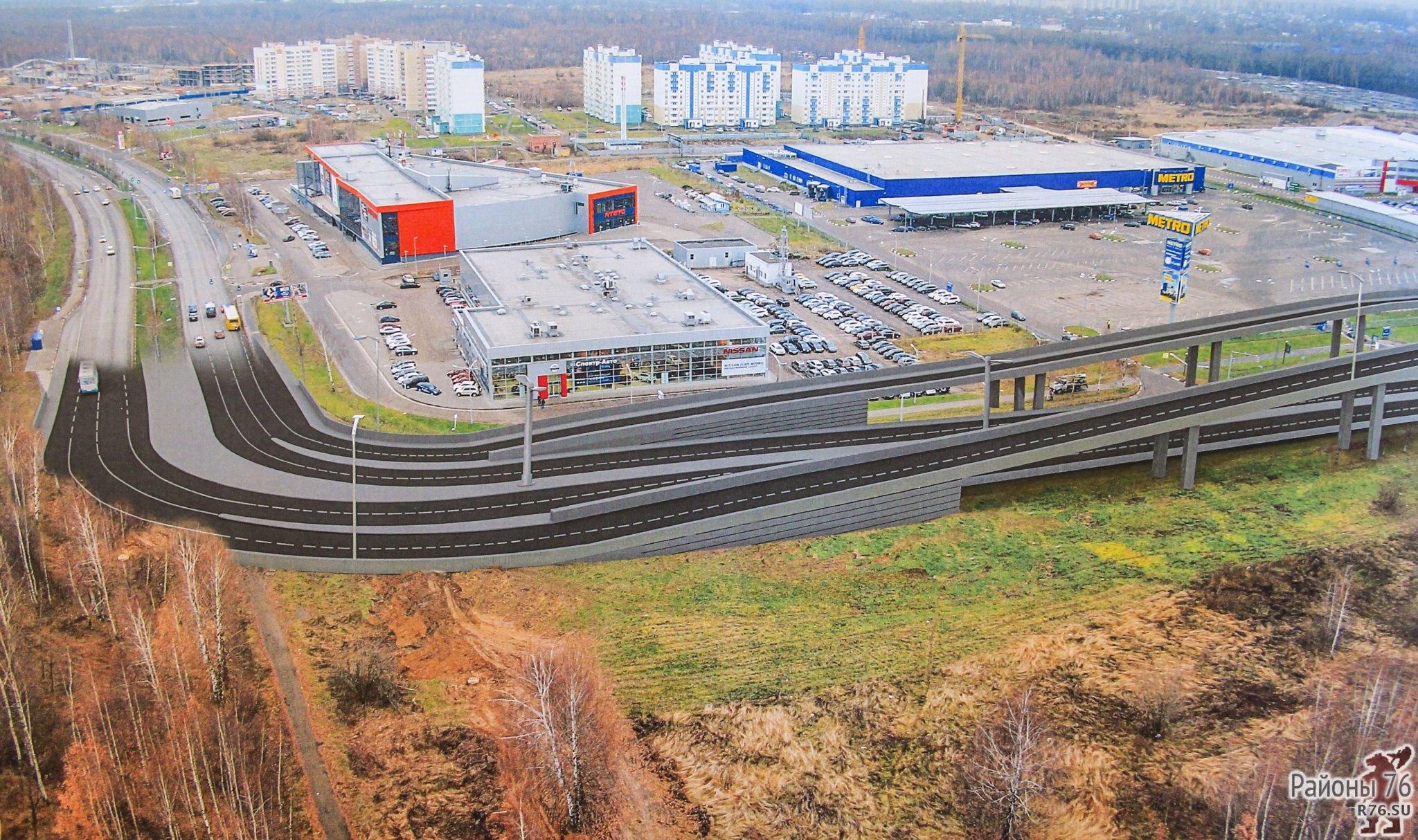 В правительстве Ярославской области рассказали о планах на Карабулинскую развязку