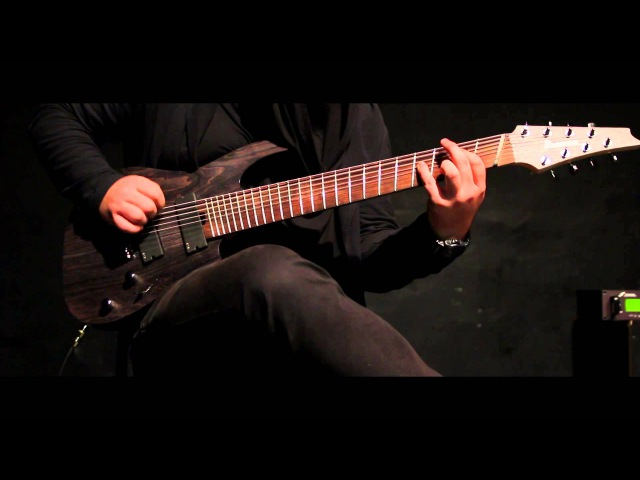 Ninja Syndrom 'EP II Preview' IBANEZ RGIF8 FANNED FRETS AXE FX