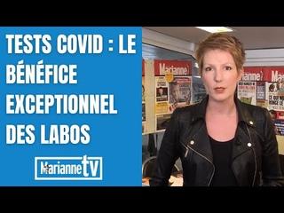 Tests Covid : le bénéfice exceptionnel des labos