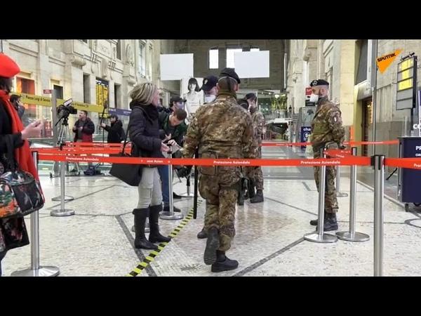 Sperrzone Italien Coronavirus legt das Land lahm