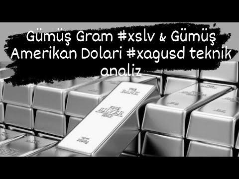 Gümüş Gram xslv Gümüş Amerikan Doları xagusd teknık analız