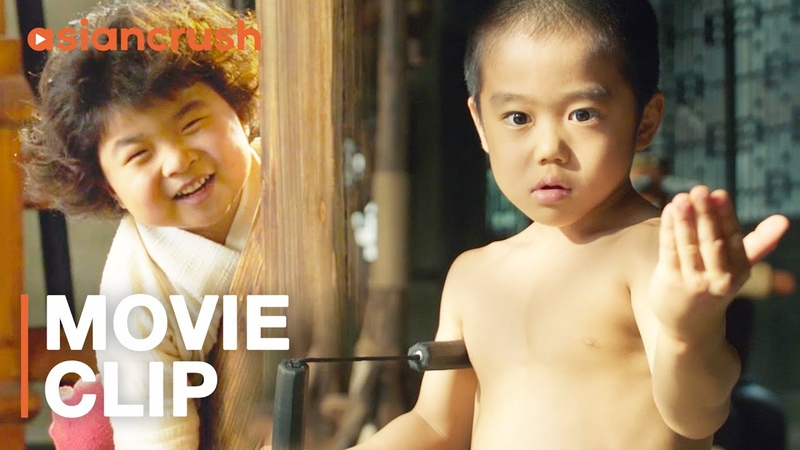 Little Bruce Lee nunchucks villains to save his fellow toddlers   'Oolang Courtyard Kung Fu School'