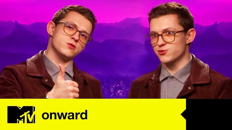 Onward Star Tom Holland Plays MTV Three Way | MTV Movies