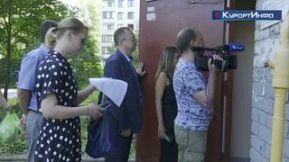 Внеплановые аварийно-восстановительные работы систем электроснабжения провели в Сестрорецке