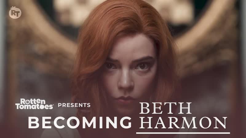 Интервью Онлайн интервью для Rotten Tomatoes TV в рамках промо фильма Ход королевы октябрь 2020 г