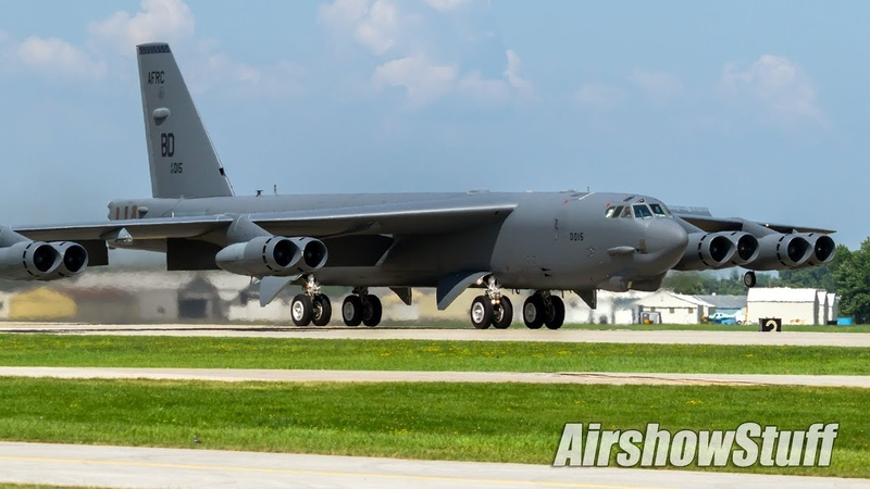 Monday Military Departures EAA AirVenture Oshkosh 2017