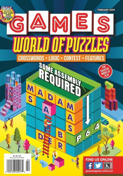 2019-02-01 Games World of Puzzles