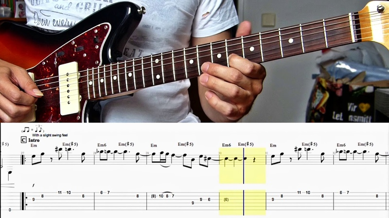 JAMES BOND THEME for Lead Guitar Tabs How To Play 007