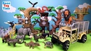 Animal Planet Zoo Animals Transporter Toy Playset For Kids Learn Animal Names