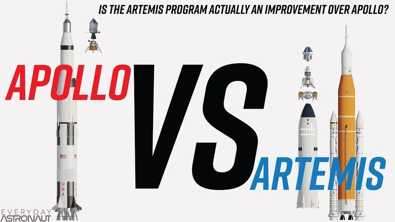 Artemis VS Apollo Is NASA's Artemis program actually sustainable