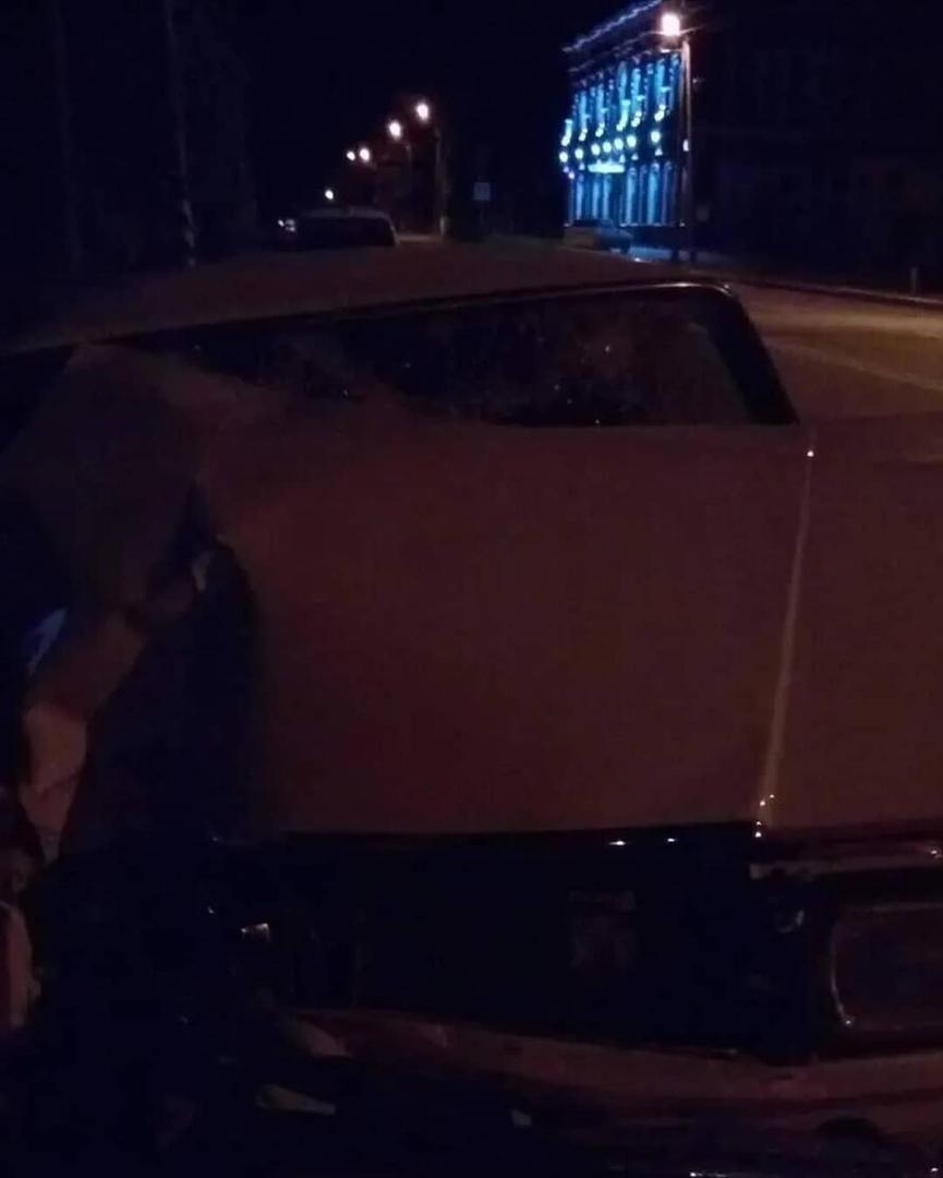 Сегодня ночью в центре Петровска произошло ДТП