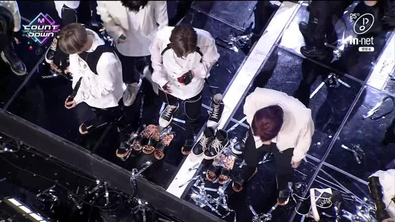 200305 엠카운트다운 방탄소년단 지민 뷔 광고 Mnet 25주년 축하 메시지 1위 후보 공약 1위 앵콜 by 시잎새