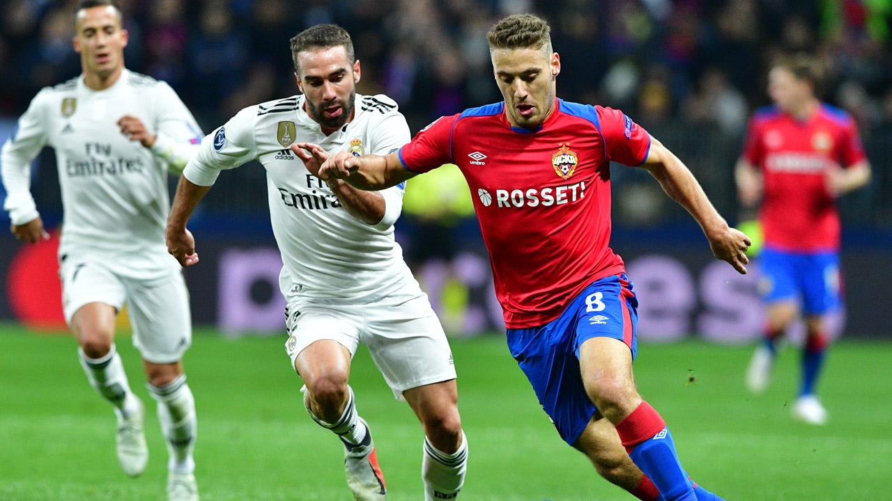ЦСКА - Реал Мадрид, 1:0. Никола Влашич