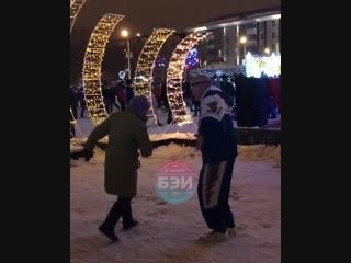 Лучший танец на соборной площади белгорода в новый год 2019