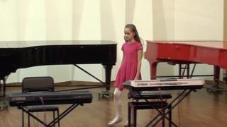 Концерт отделения ЭМИ «Народная музыка в аранжировках для синтезатора» в ДШИ №2 города Обнинска