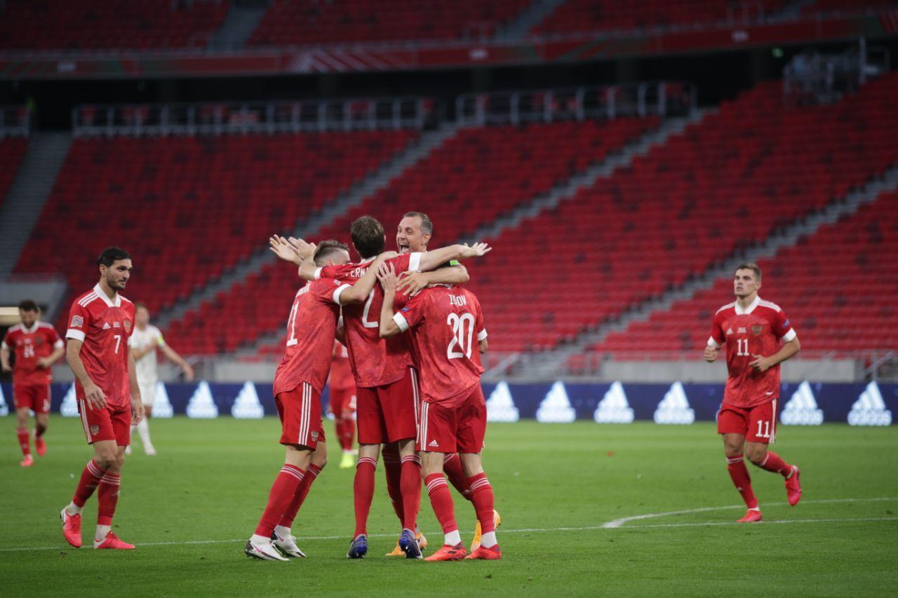 Сборная Венгрии - сборная России, 2:3