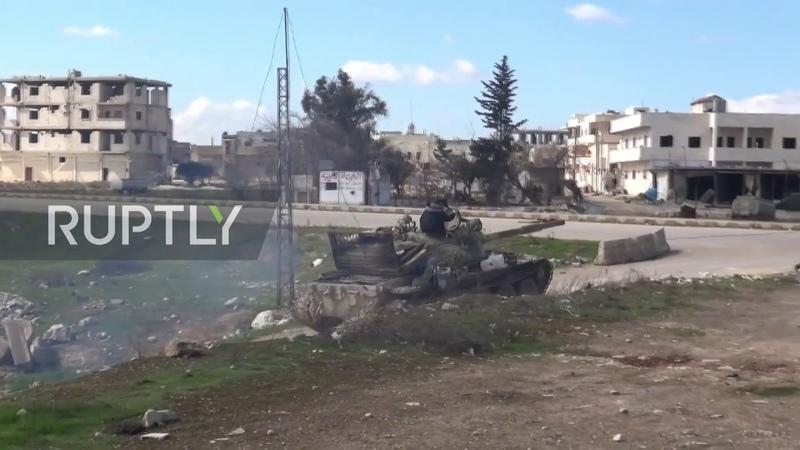 Syria SAA retakes control over strategic city of Saraqib Le immagini da Saraqib di oggi 2 3 2020