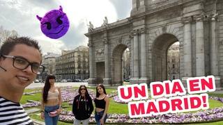 Aquipartiendomelamadre con Mia Marin Giselle Montes y Janeth Rubio Un dia en Madrid