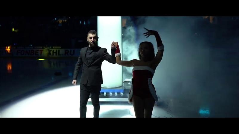 Новогоднее предматчевое шоу в исполнении Арсена Мелконяна! Хотите увидеть немного магии? :)