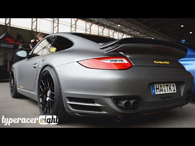 660hp Porsche 997 2 Turbo RSR w Capristo Exhausts Launch Controls