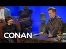 Amelia Rice Apologizes To Conan For Ditching Black Widows Red Hair - CONAN on TBS