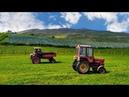 Часть 2 Трактор Т 16 против Трактор Т 25 Гонки На Тракторах