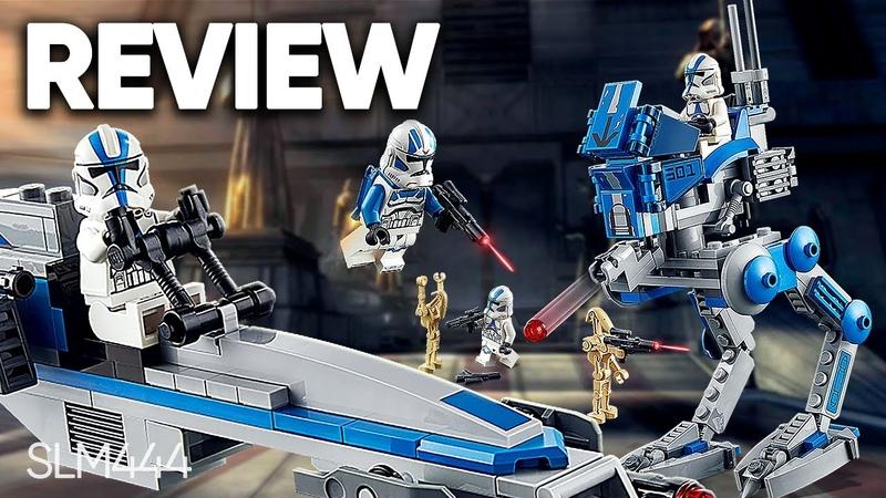 LEGO Star Wars 75280 501st Legion Clone Troopers ОБЗОР