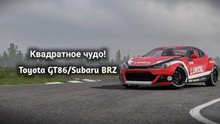 Квадратное чудо! | Toyota GT86/Subaru BRZ/Asura M1 в CarX Drift Racing 2!