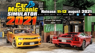 Car Mechanic Simulator 2021 - Releasing on 11th-12th August 2021 on PC & Consoles