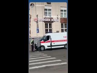 В Минске из-за репетиции парада не пускают скорую.