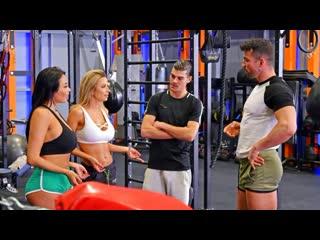 Shalina Devine, Anissa Kate - An XXX-Treme Workout Regimen - Part 2 [FullHD 1080p, DP, Anal, Group, All Sex, Latina, Asian]
