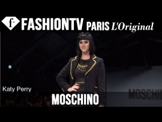 Moschino ft Katy Perry, Rita Ora | Fall/Winter 2014-15 FIRST LOOK | Milan Fashion Week | FashionTV