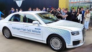 В России создали первый в своем классе автомобиль на водороде. Одна проблема - устанете копить