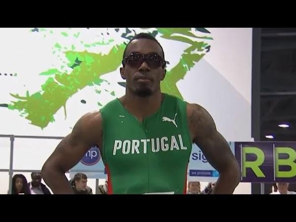 Men's 60m Race at AIT Grand Prix 2020