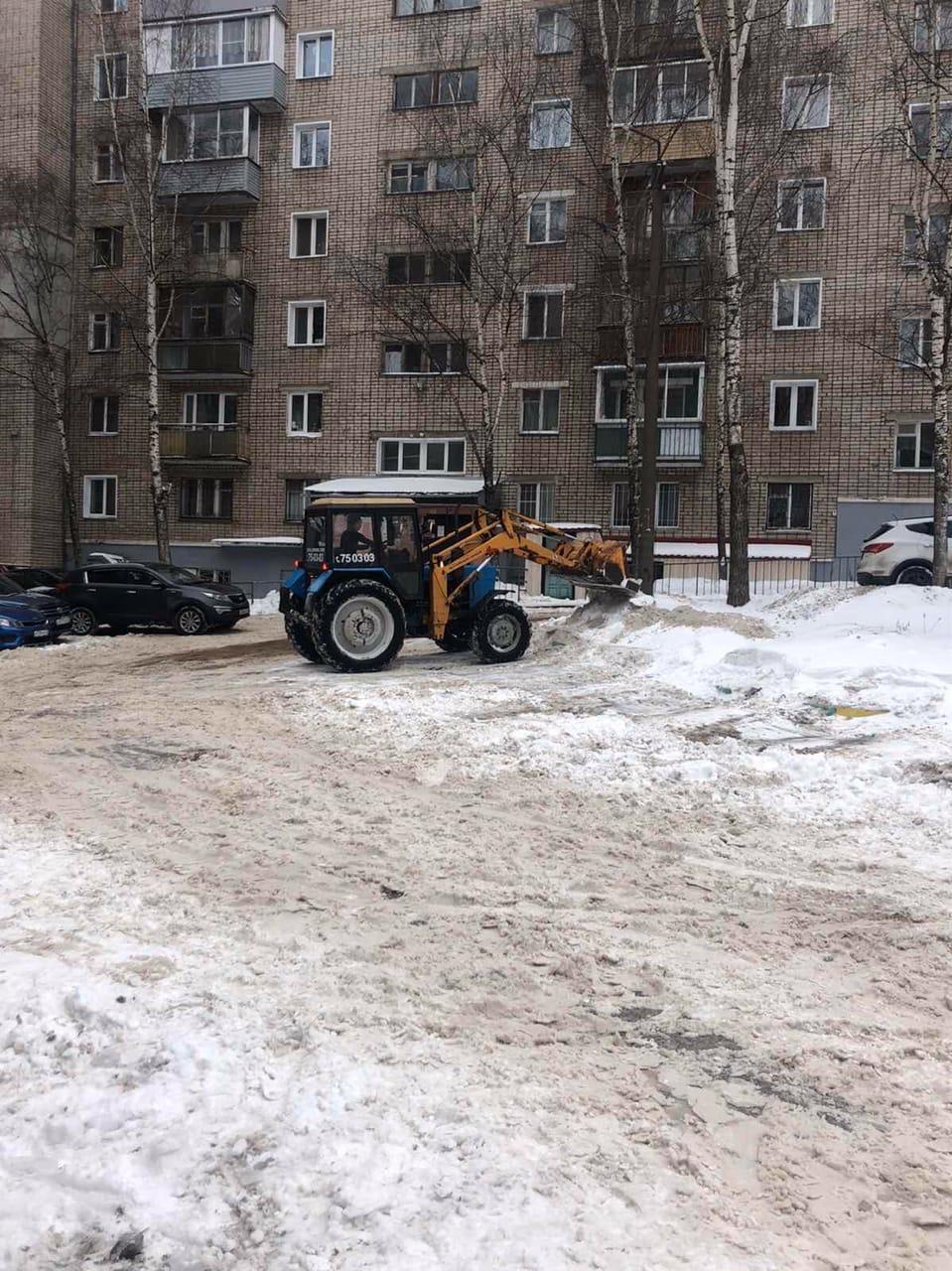 Улица Советская дом 29 механизированная уборка