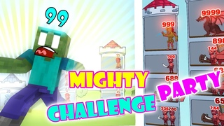 Monster School : Mighty Party Challenge - Minecraft Animation