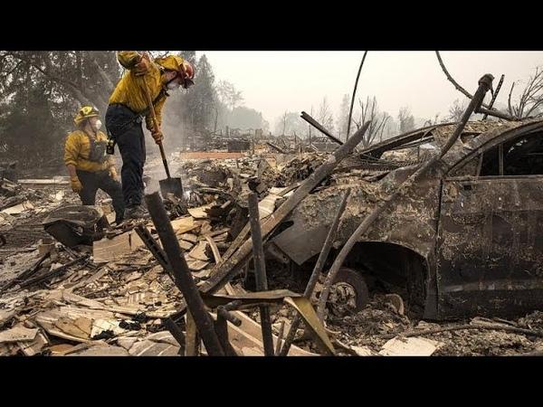 Западное побережье США задыхается от дыма лесных пожаров…