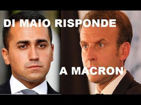"""IPOCRITA """" DALLA FRANCIA PARTE L' MAIO CI DIFENDE"""