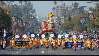 2018 Tournament of Roses Parade― Kyoto Tachibana High School Green Band―