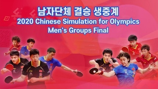 Men's Team Final | 2020 Chinese national team warm up matches for Olympics