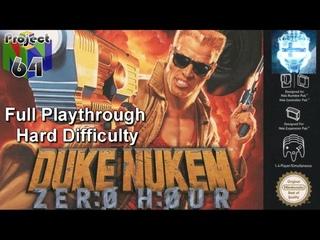 Duke Nukem: Zero Hour Full Playthrough on Hard (Project 64)