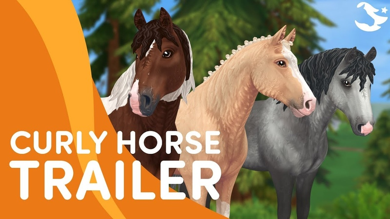2019-10-16-The Curly Horse ✨   Star Stable Breeds