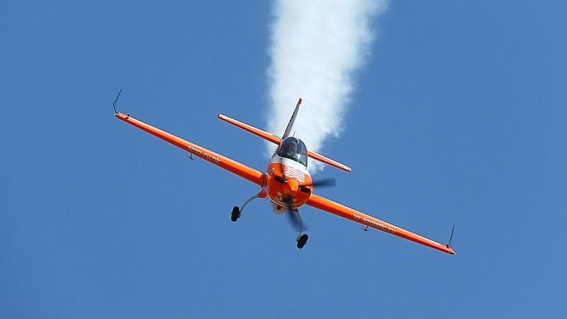 Светлана Капанина Высший пилотаж на 80 летии ЦПАТ в Кубинке